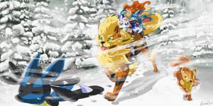 UBF - Challenging the Blizzard by Juudisu