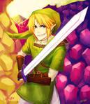 Link - collab with onisuu  x3