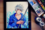 Young Adult Jack Frost - Watercolor