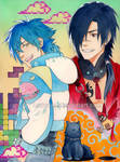 DRAMAtical Murder - Aoba and Koujaku