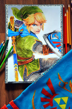 Link Hyrule Warriors - Drawing