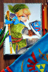Link Hyrule Warriors - Drawing by Laovaan