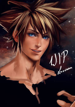 WIP Kingdom Hearts - Sora