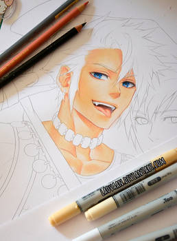 Copic Skin Colo WIP -Tutorial available on Patreon
