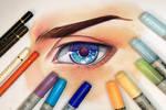 Drawing an Eye - Video