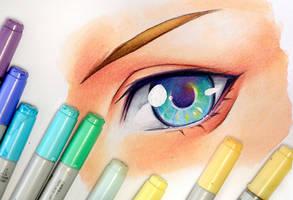 Drawing an Eye (II) - Video