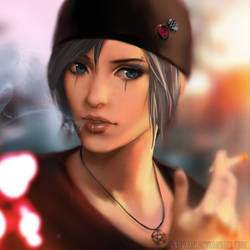 Life Is Strange - Chloe (goth outfit) by Laovaan