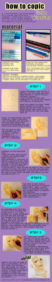 Copic Tutorial - Skin
