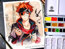 Lavi Bookman - D.Gray-man Hallow by Laovaan