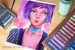 Mathilda - First Pastel Work
