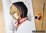 Yuri Plisetsky - 3 Watercolor Challenge