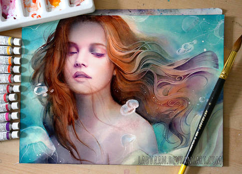 Tide - Watercolor Painting