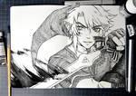 inktober 2017 - #6 Sword