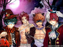Happy Halloween! - Boku no Hero Academia by Laovaan