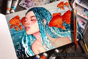 Mermaid by Laovaan