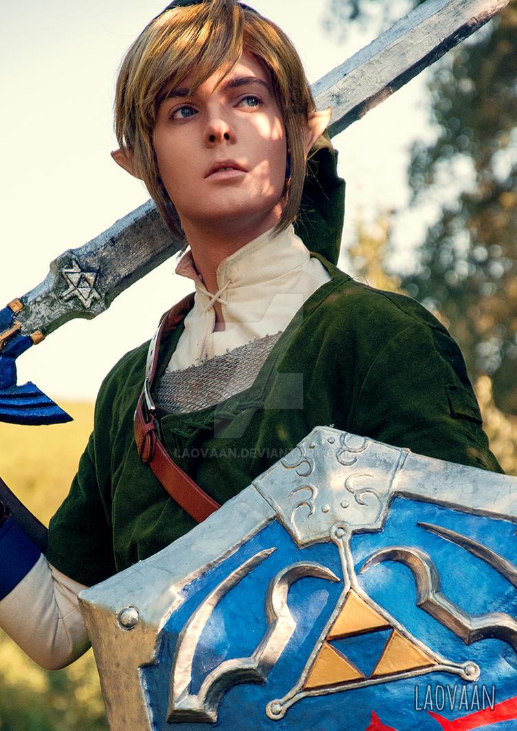 legend zelda Link cosplay of