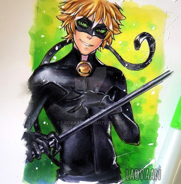 Chat Noir Miraculous Ladybug By Laovaan On Deviantart