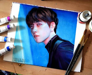 EXO - Monster Baekhyun by Laovaan