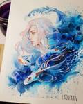 Tidal Wave - Watercolors