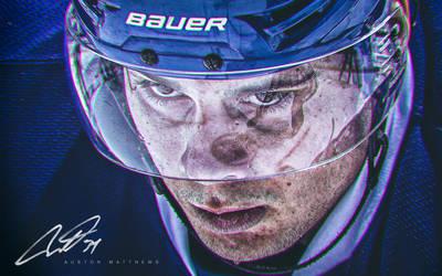 Toronto Maple Leafs Auston Matthews Wallpaper HD by boubabi