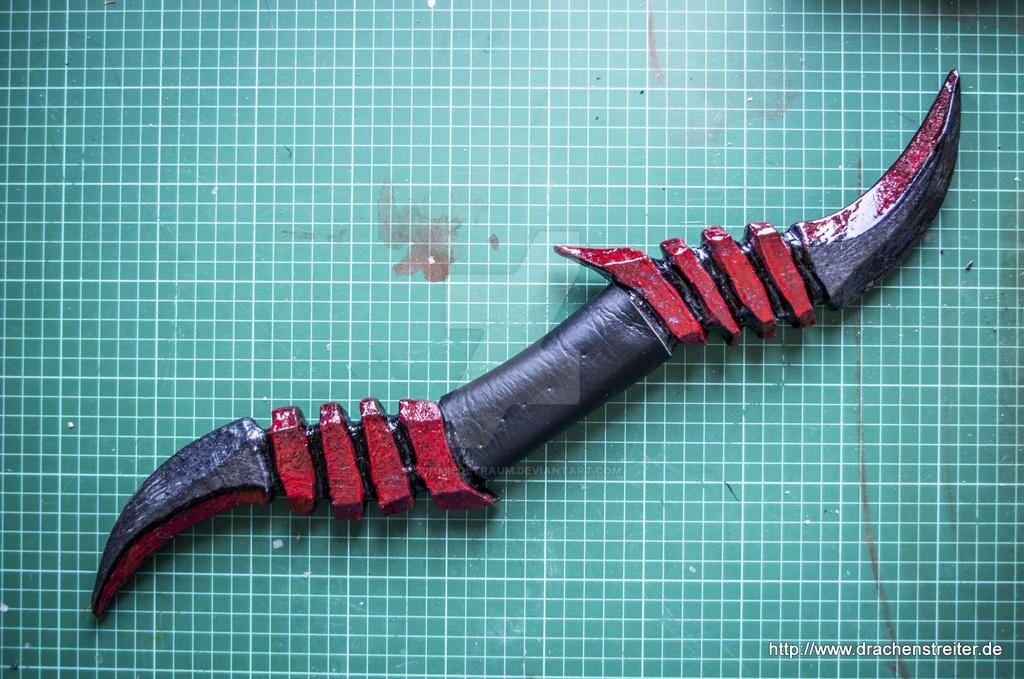 Throwing Knife By SchmiedeTraum On DeviantArt