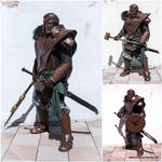 Dragon age barbarian soldier by SchmiedeTraum