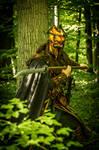 Darkwood elf /elven amber guard