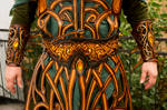 Darkwood elf /elven amber guard - waist belt