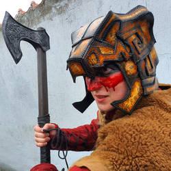The Elder Scrolls Skyrim: Nord bear helmet