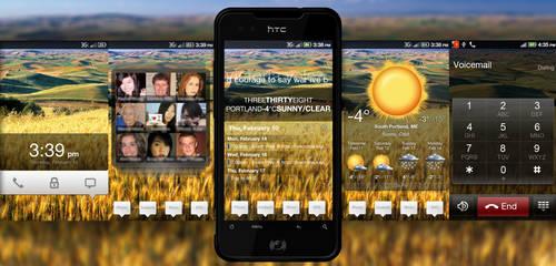 HTC Incredible MIUI v0.5 Skin by chuckdobaba