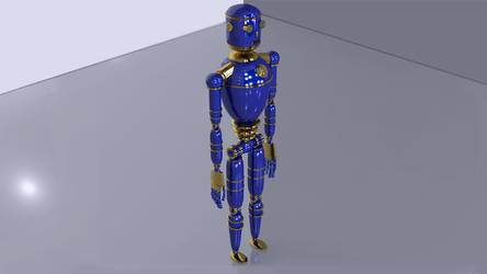 Droid-2 by steveturnerart