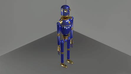 Droid-6 by steveturnerart