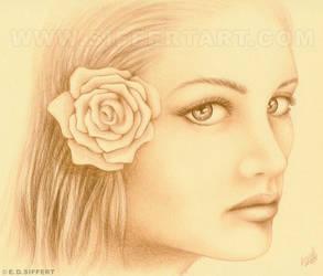 Sepia Woman by siffert
