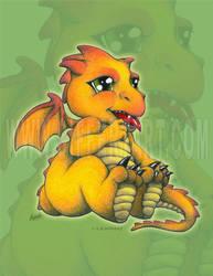 Chibi Dragon by siffert