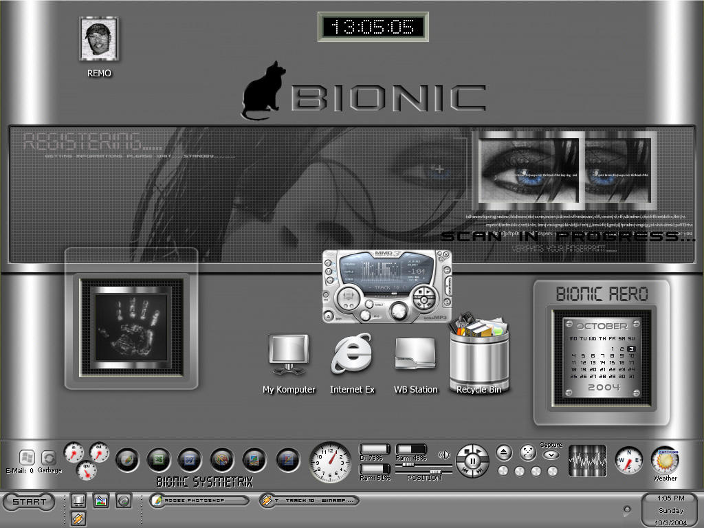 Bionic Desktop by BGart
