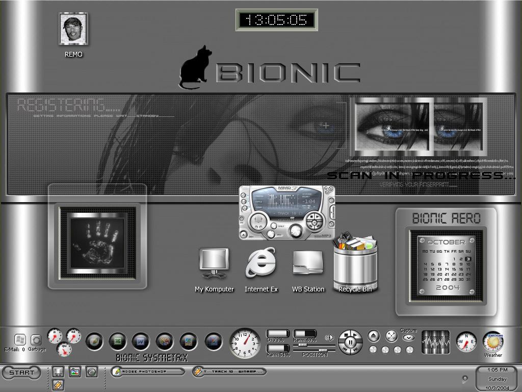 Bionic Desktop by BGart