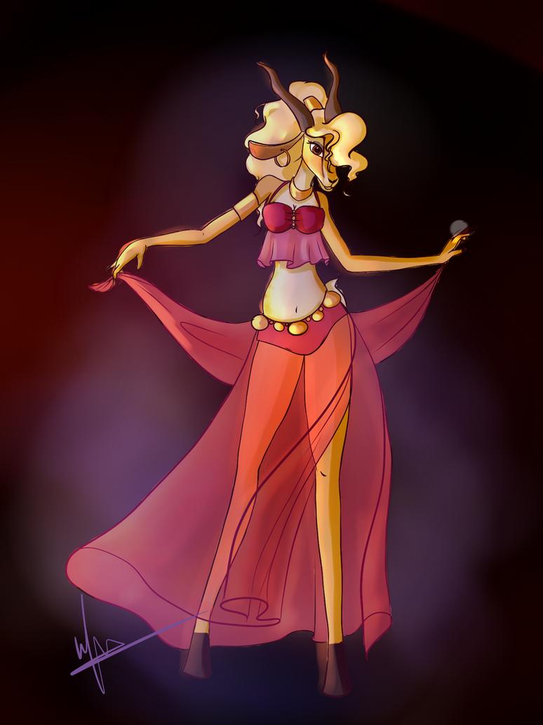 Genie Gazelle by Wiilma