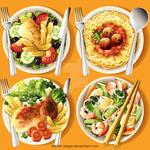 International Food Plates