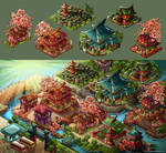 tokugawa town game map