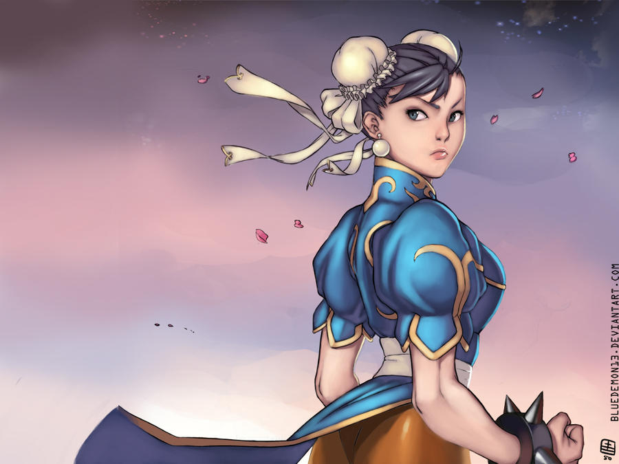 Chun-Li by BlueDemon13