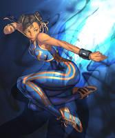 ChunLi by BlueDemon13