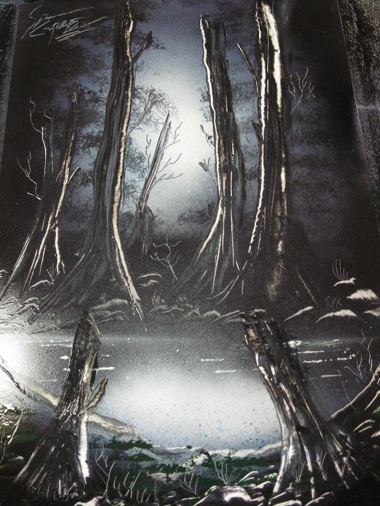 Dark Forest by TheSticknessArt