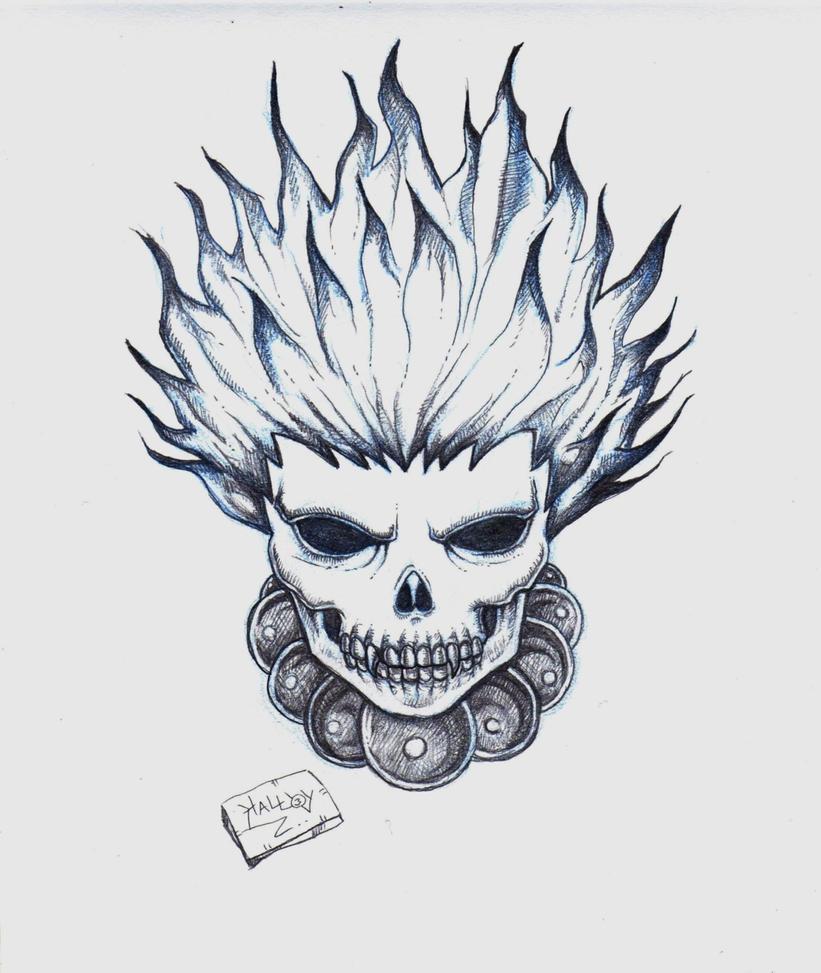 Mis nuevos dibujos 06 08 2015 arte taringa for Calavera lobo