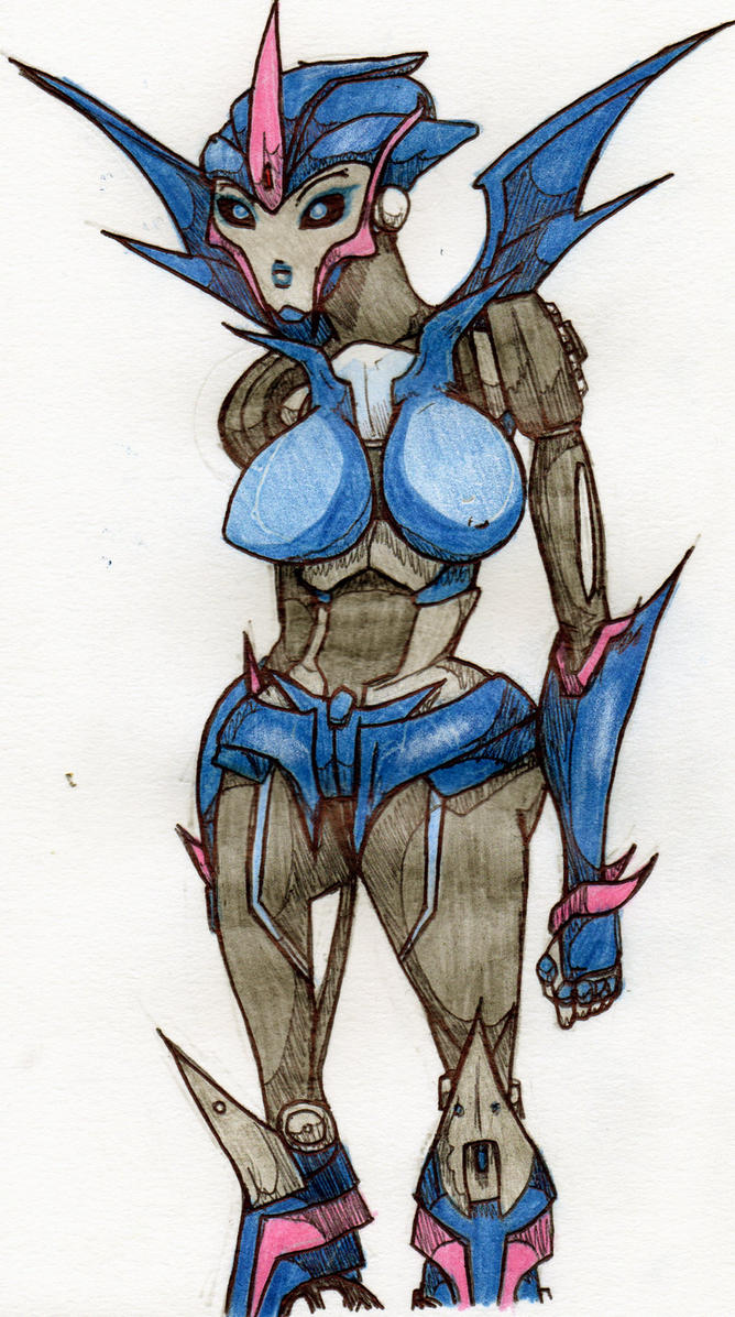 Arcee sketch by Happy-R
