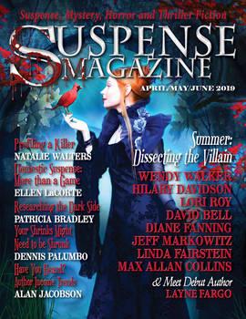 Suspense Magazine April May June 2019 Cover