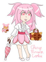 Cherry Blossom Cookie by Moonstar2314