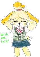 Isabelle In Smash by Moonstar2314