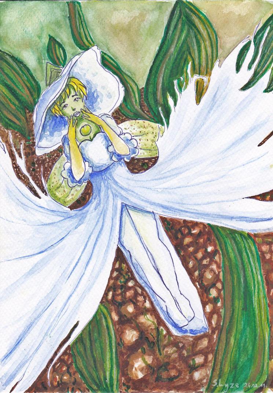 White egret flower by srebrnalyze on deviantart white egret flower by srebrnalyze mightylinksfo