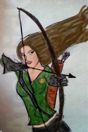 Katniss Everdeen by MintMcCloud