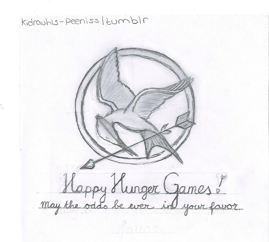 Book Cover Drawing Easy ~ Drawings of the hunger games book fronts by meganodair